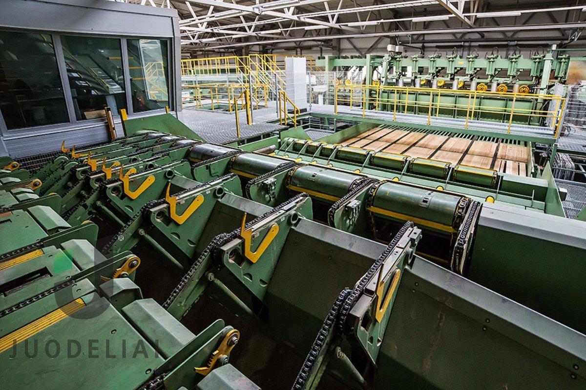 Лесопильный завод Juodeliai запускается в начале октября
