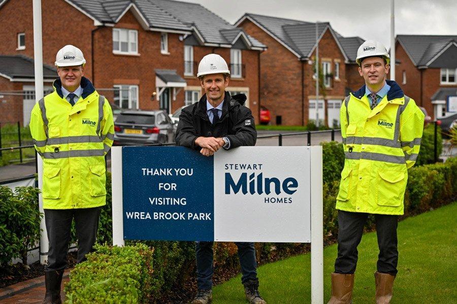 Stewart Milne Homes получает финансирование для строительства 1000 новых домов