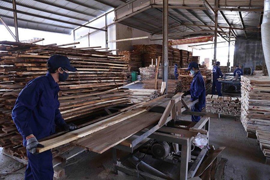 Read more about the article Экспорт древесины Бинь Динь вырос на 21%, несмотря на пандемию