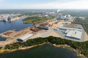 Целлюлозный завод Metsä Group в Рауме готовится к ежегодной остановке на техническое обслуживание