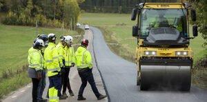 Лигнин вместо битума при дорожном строительстве испытывают в Швеции