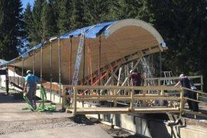 ZUBLIN Timber построит инновационную деревянную крышу над спортивным сооружением в Германии