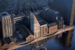 В Ирландии построят второе по высоте деревянное здание в Европе