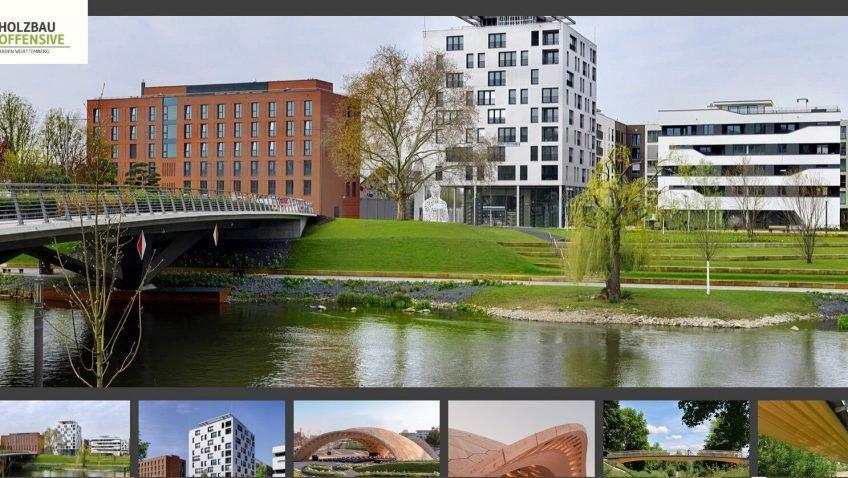 Как стимулируют новаторство в  городском деревянном строительстве земли Баден-Вюртемберг