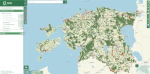 RMK добавил на карту лесных работ территории повышенного интереса