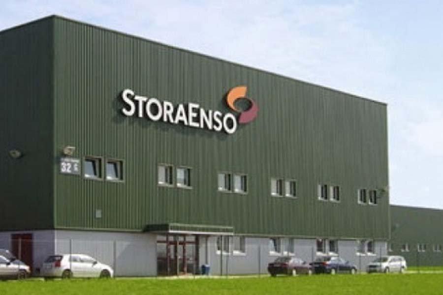 Объем продаж продукции из древесины Stora Enso снизился на 9,6%