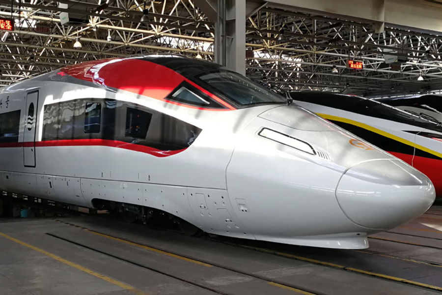 Скоростные грузовые поезда нового поколения