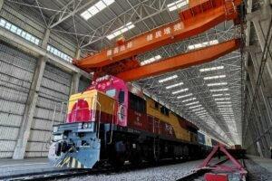 Read more about the article Количество грузовых поездов Китай-Европа через порт Синьцзян достигло нового максимума