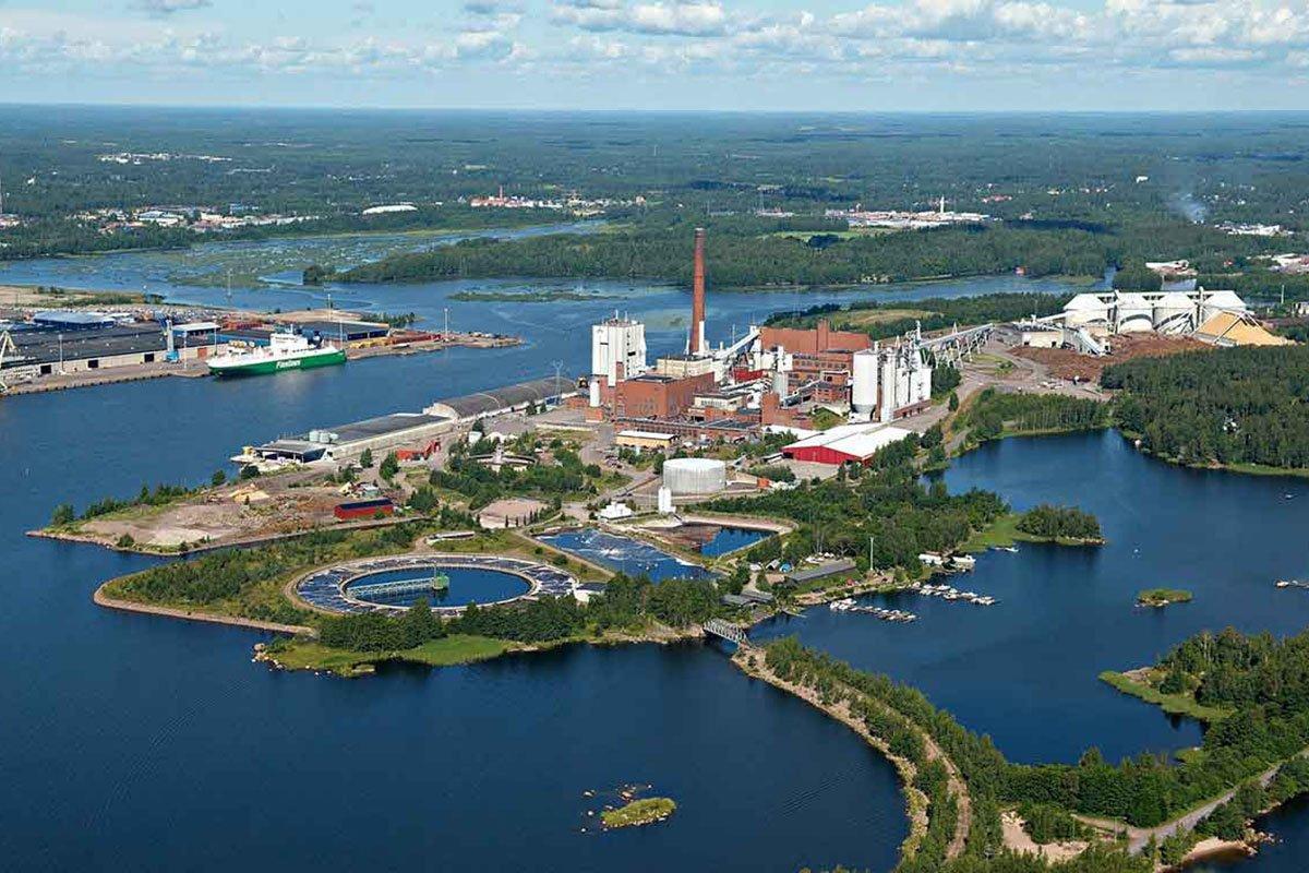 Stora Enso инвестирует в линию по производству гранулированного лигнина