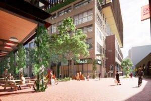 Беннеттс получил зеленый свет на строительство крупного деревянного офиса