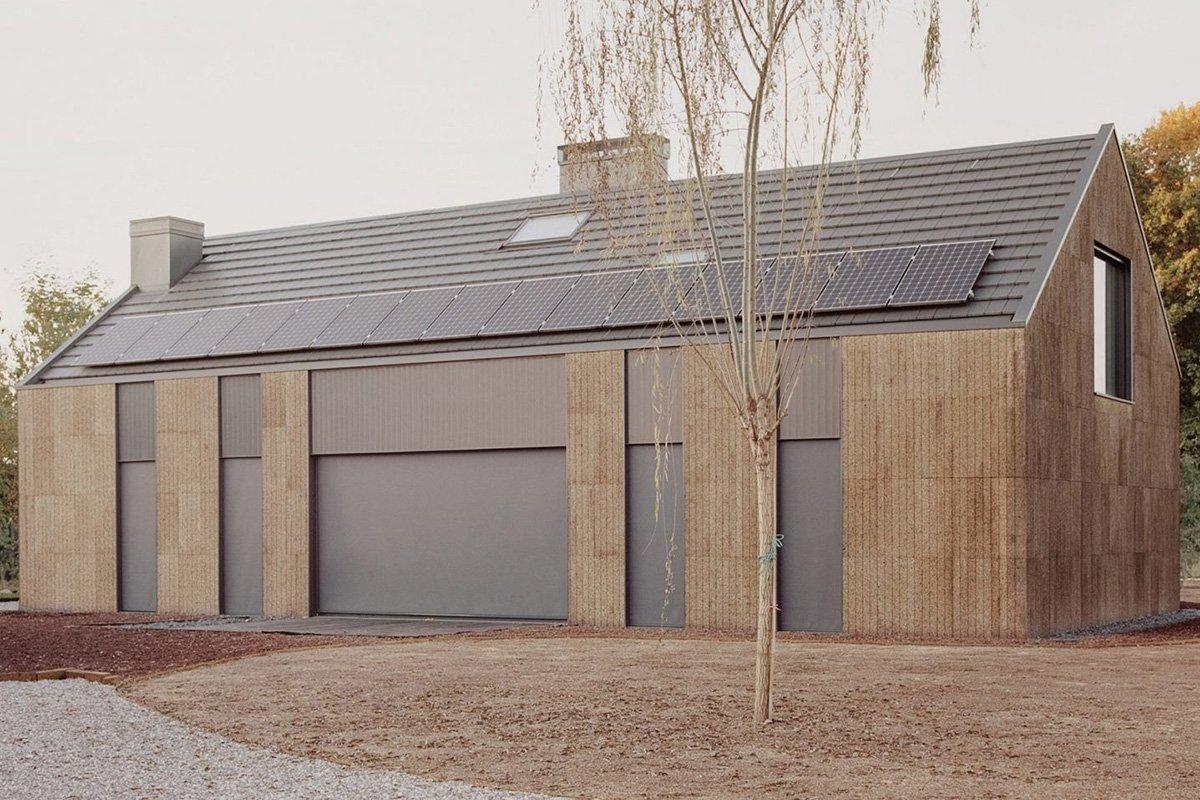 Бюро LCA Architetti представило экологически чистый дом в сельской местности Италии