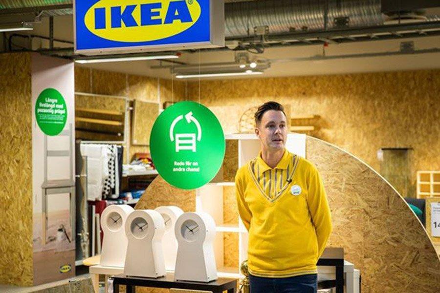 IKEA открыла pop-up-магазин в Швеции