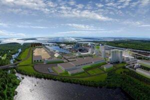 Деревоперерабатывающий комбинат в Кеми станет крупнейшим в северном полушарии
