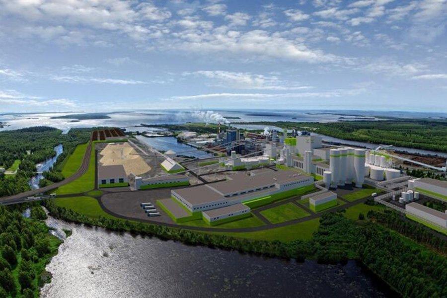 You are currently viewing Деревоперерабатывающий комбинат в Кеми станет крупнейшим в северном полушарии