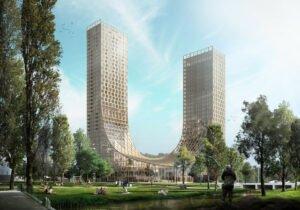 Read more about the article Голландские горы, уникальный проект деревянного сооружения  в Эйндховене.