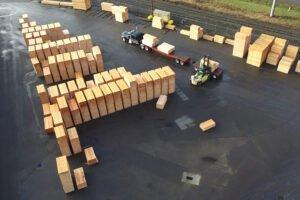 Доля лесопильной промышленности США увеличилась до 61%