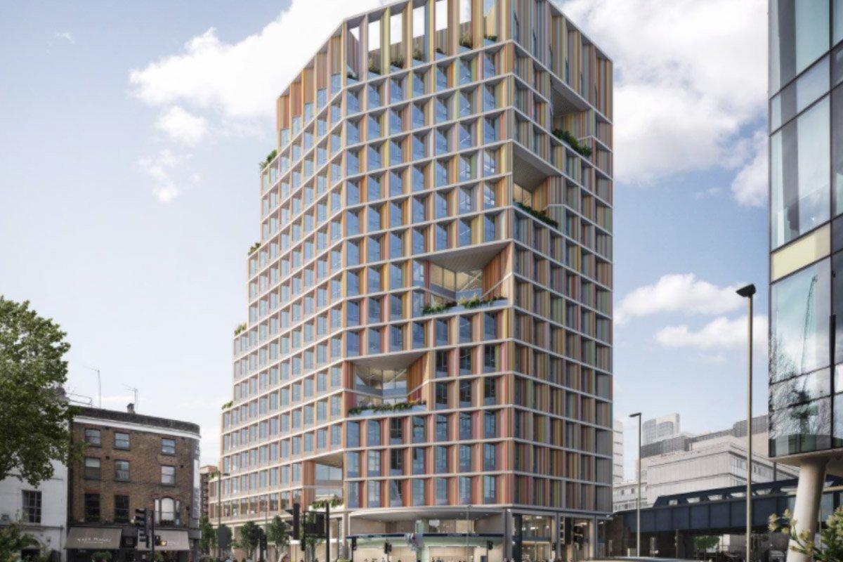 You are currently viewing 17-этажная лондонская башня из гибридной древесины получила зеленый свет