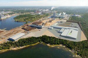 Read more about the article Заложен камень в фундамент лесопильного завода Metsä Fibre в Раума