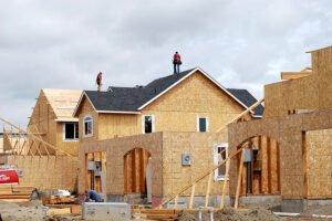 Продажи новых домов достигли максимальных темпов с 2006 г.