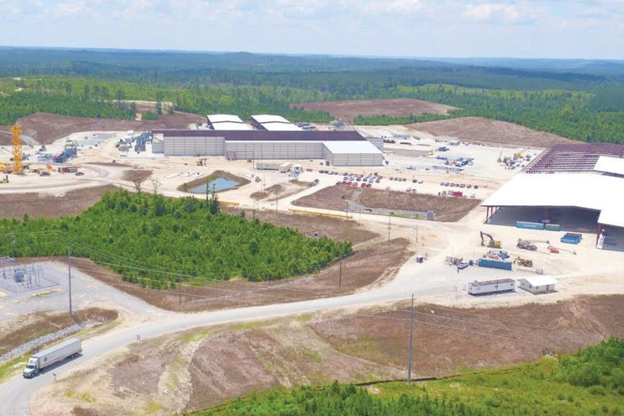 Запущен и запущен лесопильный завод Вестервельта в Томасвилле