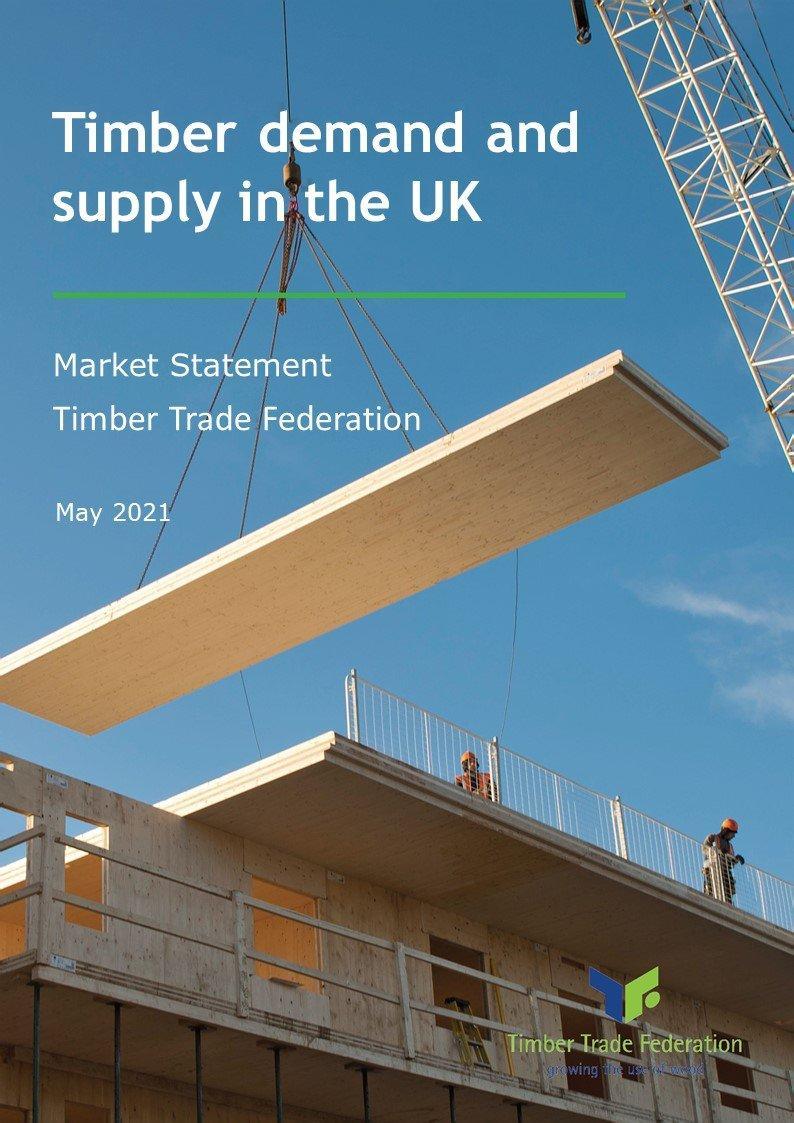 Заявление о рынке Федерация торговли древесиной Великобритании (май 2021)