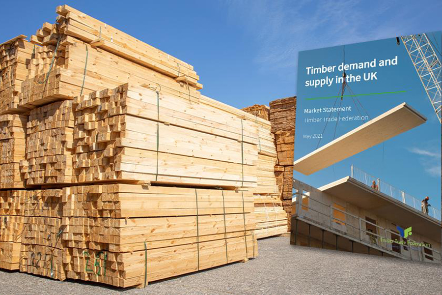 TTF анализирует состояние рынка древесины в Великобритании
