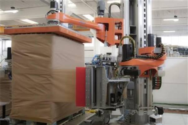 Новая бумага Mondi Advantage StretchWrap предлагает более экологичный выбор для упаковки поддонов.