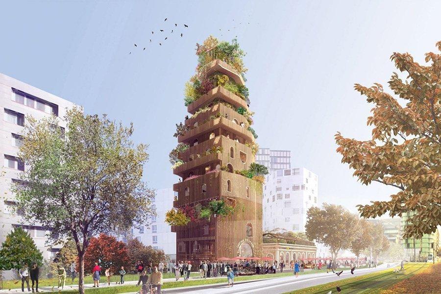 You are currently viewing Французские архитекторы столкнулись с острой нехваткой древесины