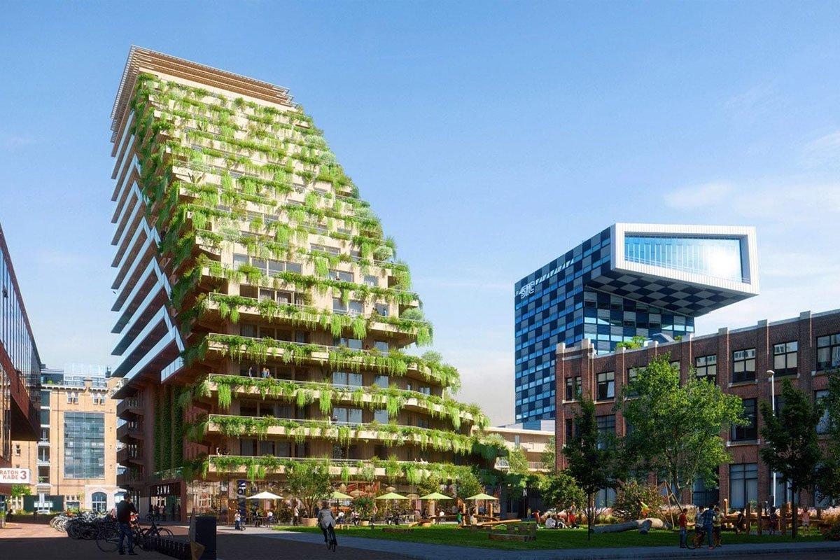 Read more about the article Строительство деревянной высотки в Роттердаме отложено из-за роста цен на древесину