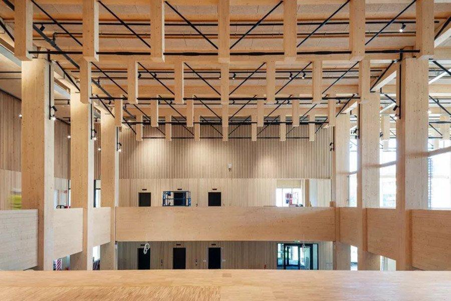 Read more about the article Sara Kulturhus от White Arkitekter — деревянное чудо