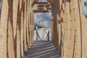 Read more about the article Самый большой в мире подвесной деревянный мост